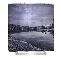 China Bend2 Shower Curtain