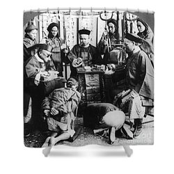 China: Boxer Trial, C1900 Shower Curtain by Granger