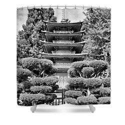 Golden Gate Park  Shower Curtain