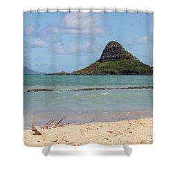Chinamans Hat Oahu Shower Curtain
