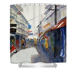 Chinatown, Bangkok Shower Curtain
