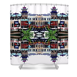 Chinatown Chicago 2 Shower Curtain