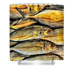 Chinatown Fish Market Nyc Shower Curtain