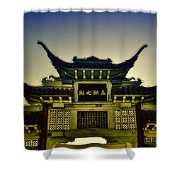 Chinatown Los Angeles Shower Curtain