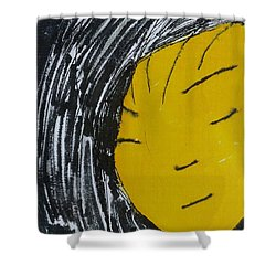 Chinese Japanese Girl Shower Curtain by Don Koester