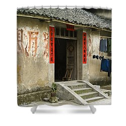Chinese Laundry Shower Curtain