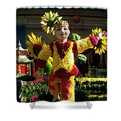 Chinese New Year Shower Curtain by Rae Tucker