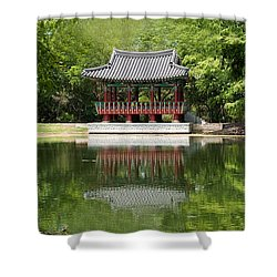 Chinese Theater Shower Curtain