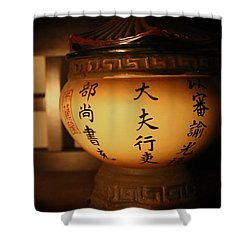 Chinese Vase Shower Curtain
