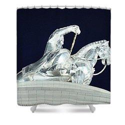 Chinggis Khan/tsagaan Sar Shower Curtain by Diane Height