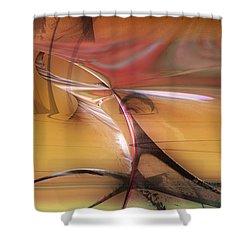 Chinook Shower Curtain by David Jenkins