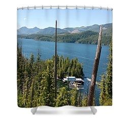 Chinootka Lodge #1 Shower Curtain