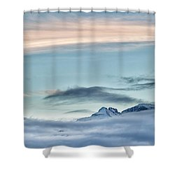Chipeta In View Shower Curtain