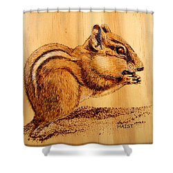 Chippies Lunch Shower Curtain