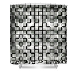 Chips Shower Curtain