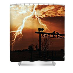 Chism Hill Shower Curtain