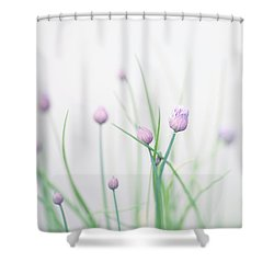 Chives 2 Shower Curtain