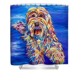 Chloe Shower Curtain by AnnaJo Vahle