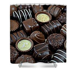 Chocolates Shower Curtain