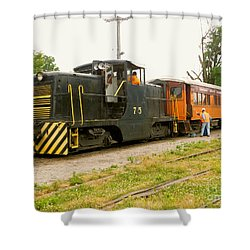 Choo Choo Shower Curtain
