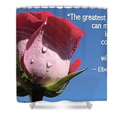 Choose Your Quote Choose Your Picture 24 Shower Curtain