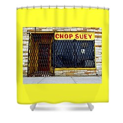 Chop Suey Shower Curtain