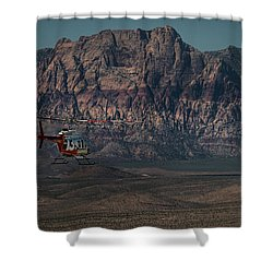Chopper 13-1 Shower Curtain