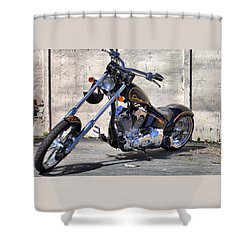 Chopper Shower Curtain
