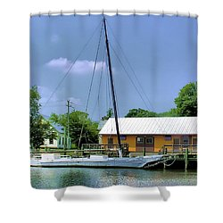 Choptank River Shower Curtain by Brian Wallace