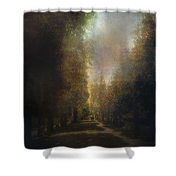 Shower Curtain featuring the photograph Chosen Path  by John Rivera