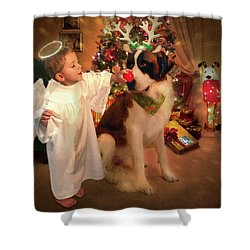 Chris And Bern Shower Curtain
