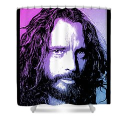 Chris Cornell Tribute Shower Curtain