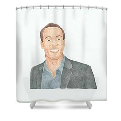 Chris Klein Shower Curtain