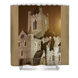 Christ Church Dublin Ireland Shower Curtain