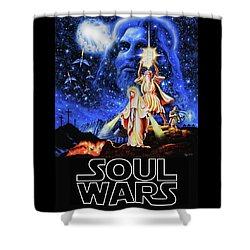 Christian Star Wars Parody - Soul Wars Shower Curtain