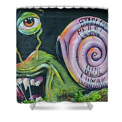 Christiania Mural Shower Curtain
