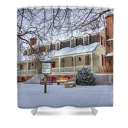 Christina Campbell Tavern Colonial Williamsburg Shower Curtain