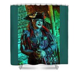 Christine Campiotti And Hunted House Shower Curtain