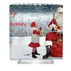 Christmas 2017 Shower Curtain