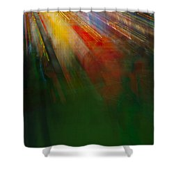 Christmas Abstract Shower Curtain
