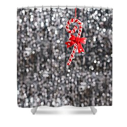 Shower Curtain featuring the photograph Christmas Candy  by Ulrich Schade