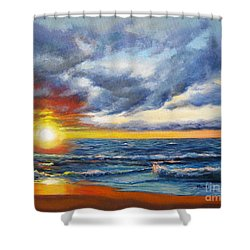 Christmas Cove Shower Curtain