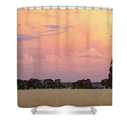 Shower Curtain featuring the photograph Christmas Eve In Australia by Linda Lees