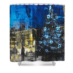 Shower Curtain featuring the photograph Christmas Eve by LemonArt Photography