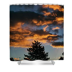 Christmas Eve Sunrise 2016 Shower Curtain by Jason Coward
