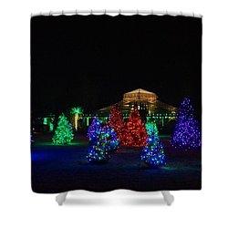 Christmas Garden 7 Shower Curtain