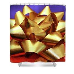 Christmas Gift Shower Curtain by Gaspar Avila