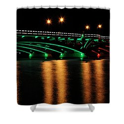 Christmas In Shrewsbury Shower Curtain