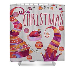 Shower Curtain featuring the photograph Christmas by Jeff Burgess