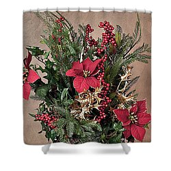 Christmas Jewels Shower Curtain